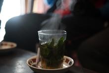 Hot Tea With Smoke
