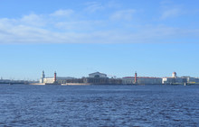 View Of The Neva River And Arr...