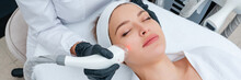 Young Woman Receiving Laser Tr...