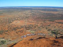 View At The Outback From Uluru (Ayers Rock) Uluru-Kata Tjuta National Park Northern Territory Australia