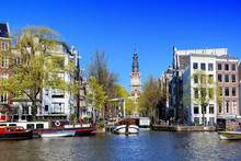 Scenic Architecture Of Amsterd...