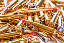 Pile Of Fire Bullets Or Ammuni...