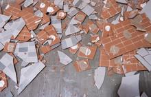 Pile Of Ceramic Tiles
