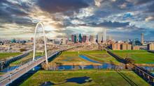 Dallas Texas TX Downtown Drone Skyline Aerial