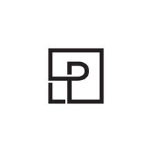 Initial P Letter Logo Design V...