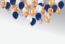 Glossy Happy Birthday Party B...