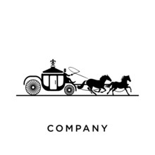 Horse Cart Logo Design