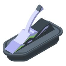 Jet Ski Icon. Isometric Of Jet Ski Vector Icon For Web Design Isolated On White Background