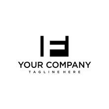 Clean Logo Design Of Letter F ...