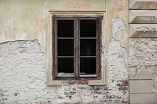Old Wooden Window, No Glass, J...