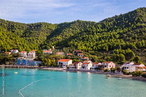 Fototapety, obrazy: Zuljana Village - Peljesac, Dalmatia, Croatia