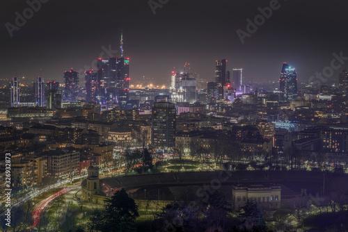 Fototapeta Milano Skyline obraz na płótnie