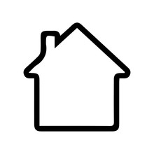House Icon Illustration Sign