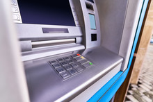 Atm Bank For Withdrawing Cash ...