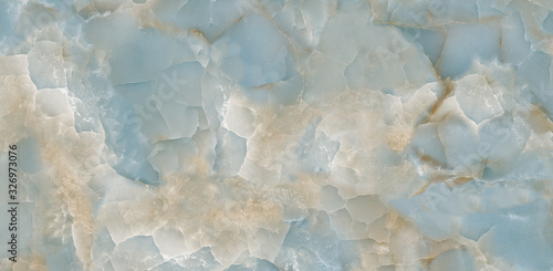 Fototapeta kamień  aqua-onyx-colorful-crystal-marble-texture-with-icy-colors-polished-quartz-stone-background