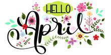 Hello April. Hello APRIL With ...