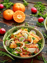 Smoked Salmon And Fennel Salad...