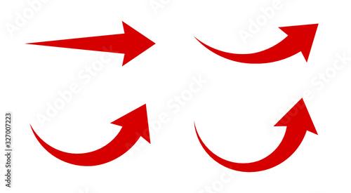 Obraz strzałki zestaw ikon - fototapety do salonu