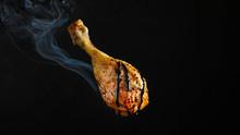 Chicken Or Duck Leg, Fried Mea...