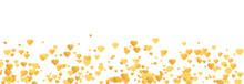 Vintage Gold Heart Confetti, G...
