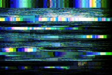 Glitch No Signal Background Pi...