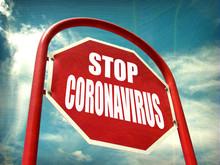 Stop Coronavirus Vaccine Sign