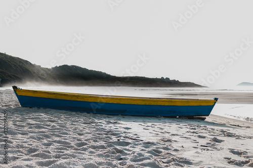 Photo barco azul