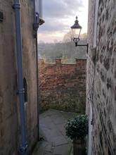 Back Alley Path In Knaresborough Yorkshire England