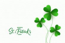 Happy St. Patricks Day Clover ...