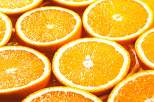 Background From Fresh Orange S...
