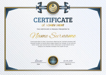 Official White Certificate Wit...