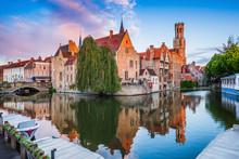 Bruges, Belgium. The Rozenhoed...