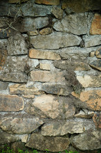 Beige Color Stone Wall