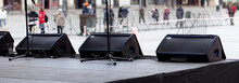 Stage Monitor System, A Row Of...