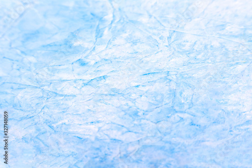 Simple abstract icy light blue white cloud-like dreamy ethereal background texture Canvas Print