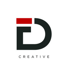 Df Logo Design Vector