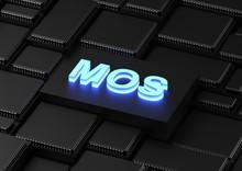 MOS Acronym (metal–oxide–silicon)