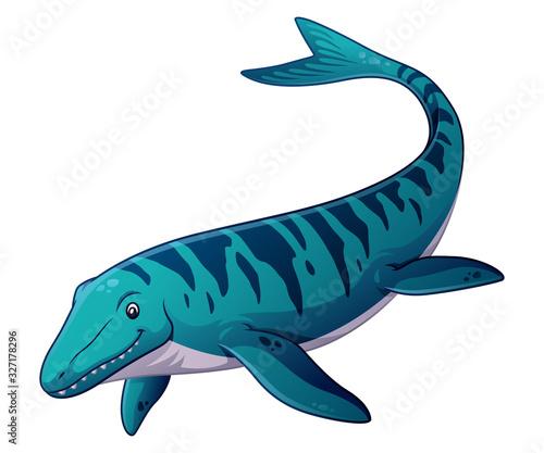 Photo Mosasaurus Cartoon Illustration