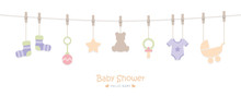Baby Shower Welcome Greeting C...