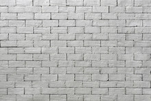 Silver Grey Brick Wall Tiling ...