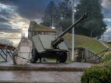Artillery Piece At The Entranc...