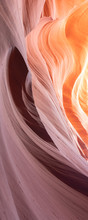 Abstract Background With Colorful Waves - Canyon Antelope Near Page, Arizona