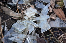 Pieces Of Glass From The Windo...