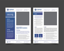 Case Study Template With Minim...