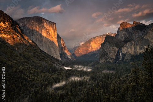 Yosemite Valley Nationalpark Canvas Print