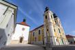 Cathedral Basilica of Szekesfehervar, Hungary.