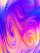 canvas print picture - Way of Vivid Palette