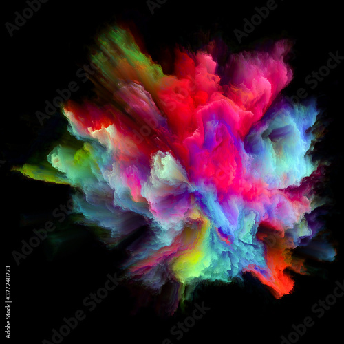Fototapety, obrazy: Color Burst