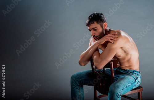 Fototapety, obrazy: Attractive young model