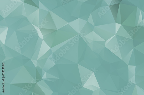 Dark Multicolor vector texture with colored Low Poly background Decorative vecto Canvas Print
